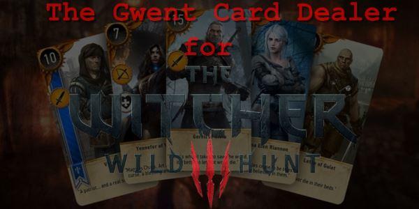 Торговец картами для Гвинта (The Gwent Card Dealer) для Ведьмак 3