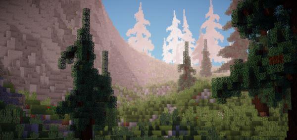 Medieval / Fantasy Custom Terrain для Minecraft 1.9.4