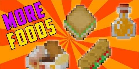 More Foods для Minecraft 1.9.4
