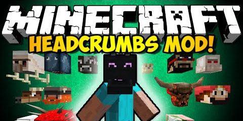 Headcrumbs для Minecraft 1.9.4