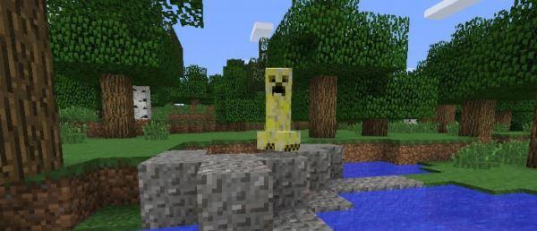 Elemental Creepers 2 для Minecraft 1.8