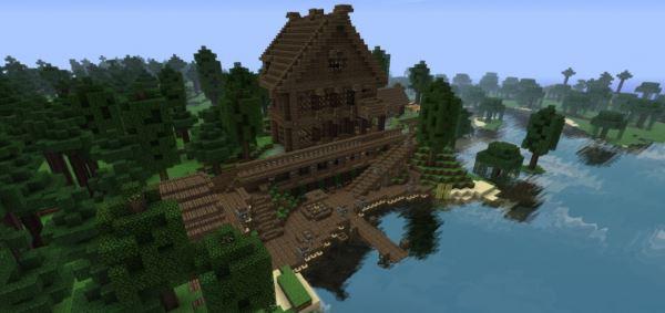 Huge Mansion для Minecraft 1.8