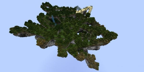 Floating Survival Island для Minecraft 1.8