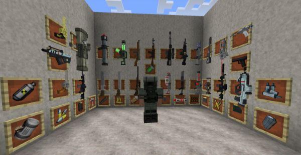 Techguns для Minecraft 1.7.10