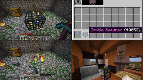MineSpawner для Minecraft 1.8