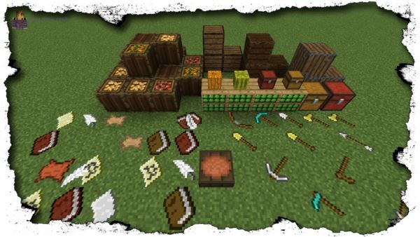 Mine Maus More Deco Default для Minecraft 1.8.9
