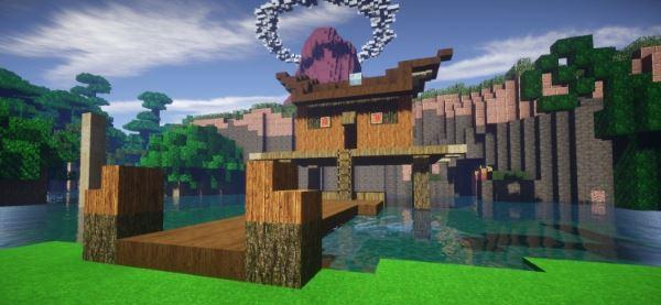 Majoras Mask 3DS для Minecraft 1.8.9