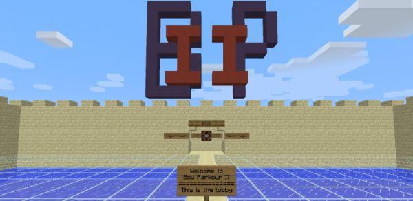 Bow Parkour 2 для Minecraft 1.9.4