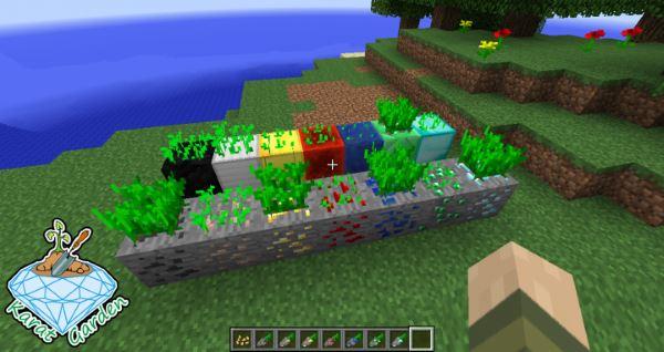 Karat Garden для Minecraft 1.7.10