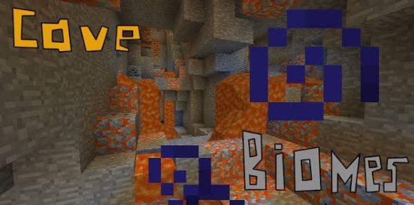 CaveBiomes для Minecraft 1.9.4