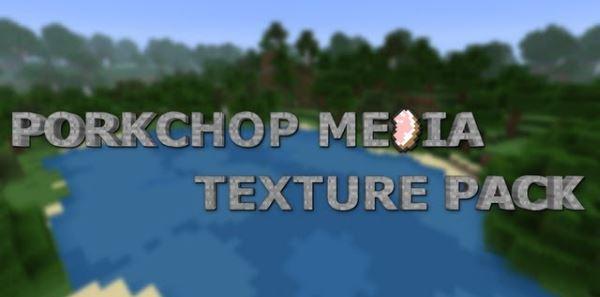 Porkchop Media x64 для Minecraft 1.8.9