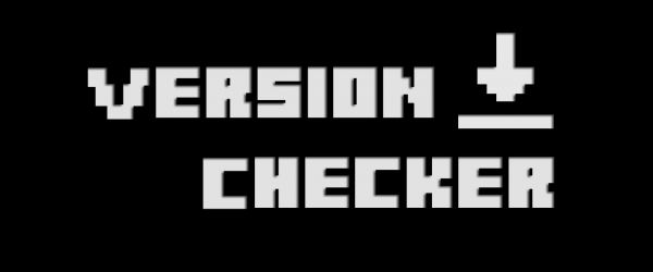 Version Checker для Minecraft 1.8