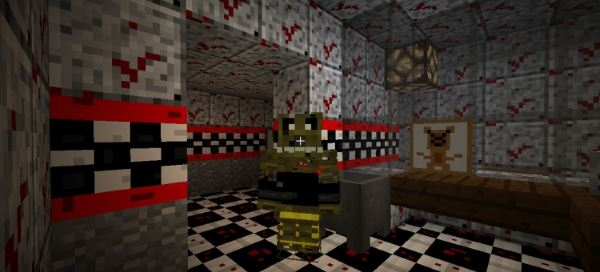 Five nights at freddy's 3 для Minecraft 1.8.9