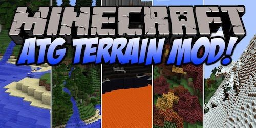 Alternate Terrain Generation для Minecraft 1.7.10