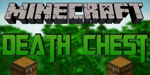 Death Chest для Minecraft 1.8