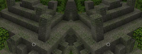 Древняя деревня с храмом для Minecraft 1.9.4