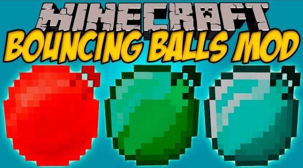 Bouncing Balls для Minecraft 1.7.10