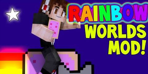 The Rainbow World для Minecraft 1.7.10