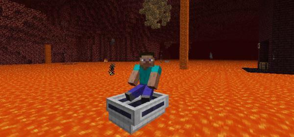 LavaBoat для Minecraft 1.8