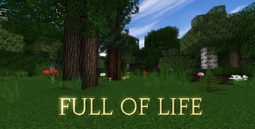 Full of life для Minecraft 1.8.9