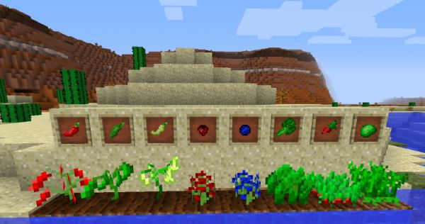 PlantsPlus для Minecraft 1.7.10
