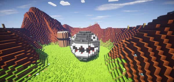 Wii U Edition Mario Mashup для Minecraft 1.10