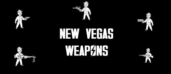 Оружие из вегаса - New Vegas Weapons v 1.3 для Fallout 4