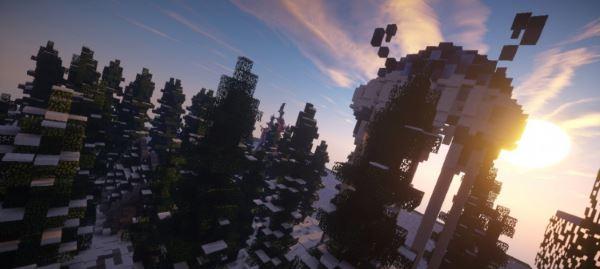Argonian Temple для Minecraft 1.8