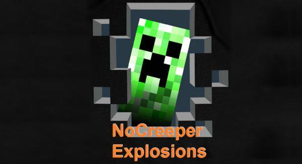 NoCreeperExplosions для Minecraft 1.8