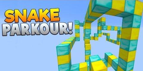 Snake Parkour для Minecraft 1.10