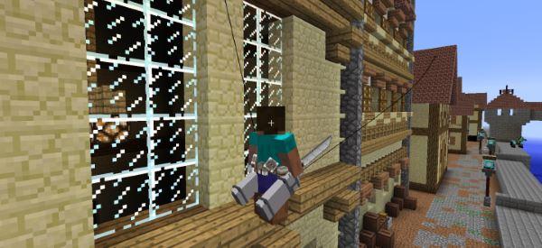 3D Maneuver Gear для Minecraft 1.9.4