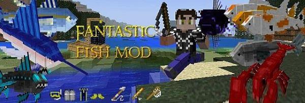 Fantastic Fish для Minecraft 1.7.10