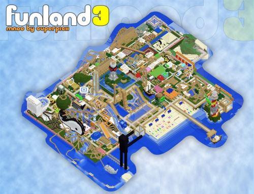 FunLand 3.2 для Minecraft 1.8.9