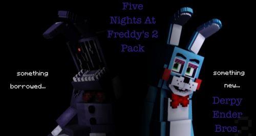 Derpy Ender Bros – FNaF 2 для Minecraft 1.8.9