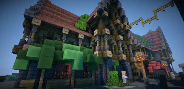 BlackCraft для Minecraft 1.10