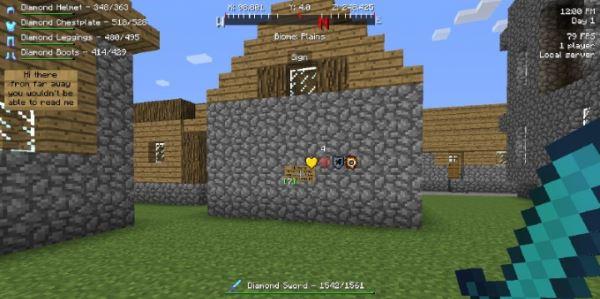 Better HUD для Minecraft 1.9.4