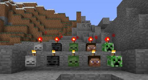 MC+ SkullCandles для Minecraft 1.7.10