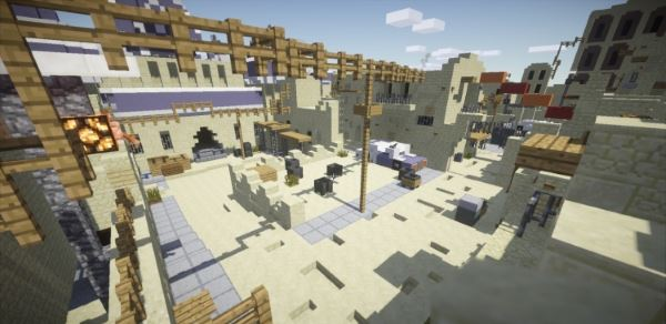 CounterStrike GO - De Dust II для Minecraft 1.8.2