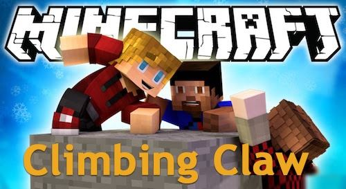 Climbing Claw для Minecraft 1.9.4