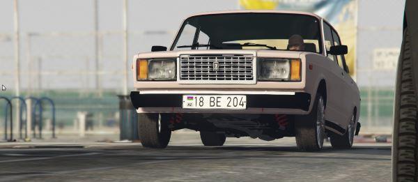 ВАЗ-2107 Седан для GTA 5