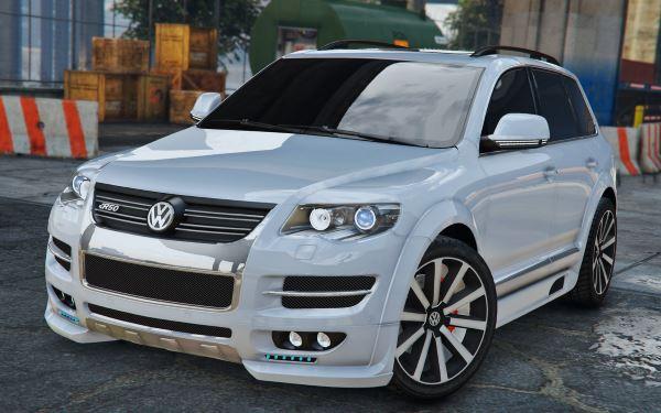 Volkswagen Touareg 2008 R50 для GTA 5