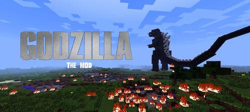 Godzilla для Minecraft 1.7.10
