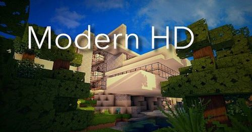 New Modern HD для Minecraft 1.8.9