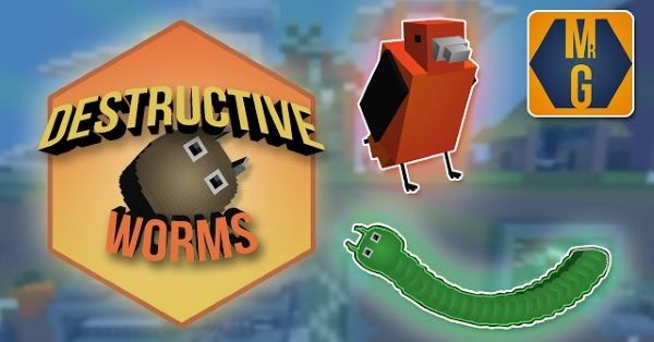 Destructive Worms для Minecraft 1.10