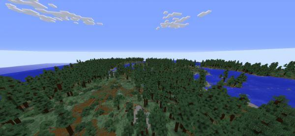 Realistic Terrain Generation для Minecraft 1.9.4