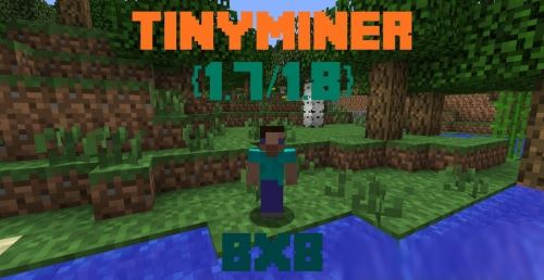 TinyMiner x8 для Minecraft 1.8.3