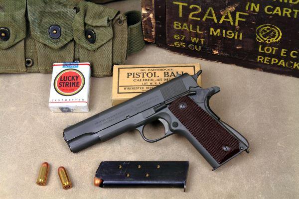WWII Colt 1911 / Кольт 1911 v 3.0 для Fallout 4