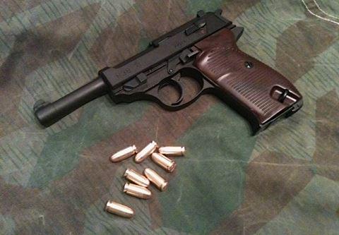 Walther P38 / Вальтер П38 для Fallout 4