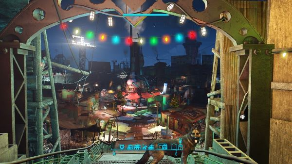 Extended Diamond City Holidays / Долгие праздники в Даймонд-Сити для Fallout 4