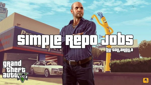 Simple Repo Jobs для GTA 5